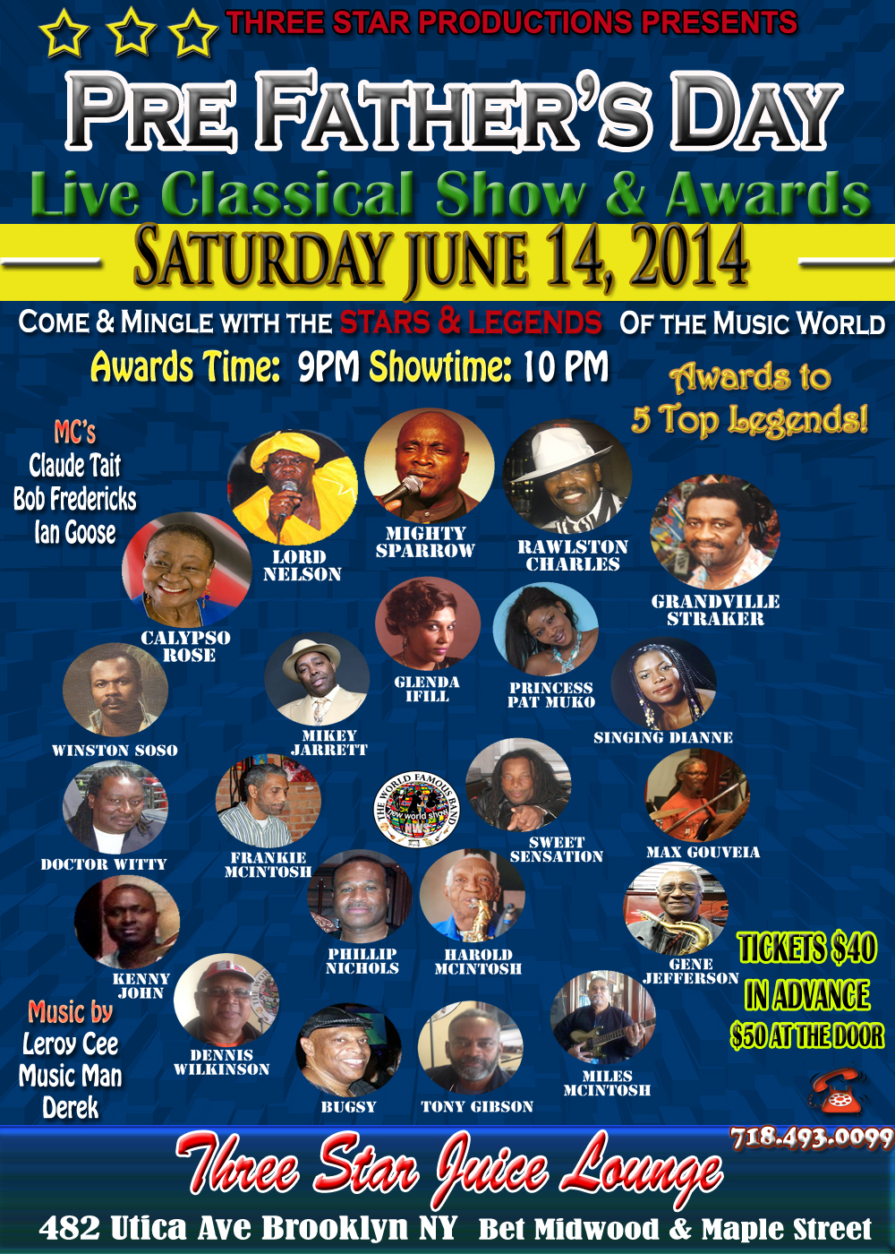 Pre-Fathers Day Live Classical Show & Awards